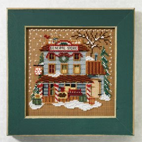 Mill Hill Buttons & Bead Kits MH147303 Winter Series 2007 ~ General Store