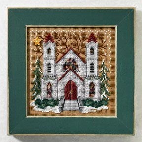 Mill Hill Buttons & Bead Kits MH147305 Winter Series 2007 ~ St. Nicholas Cathedral