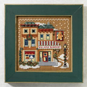Mill Hill Buttons & Bead Kits MH147306 Winter Series 2007 ~ Village Bakery