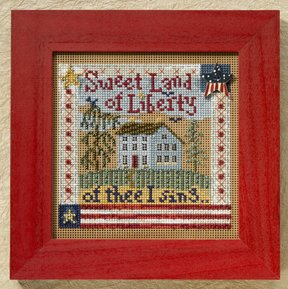 Mill Hill Buttons & Bead Kits MH148204 Autumn Series 2008 ~ Sweet Liberty