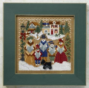 Mill Hill Buttons & Bead Kits MH148305 Winter Series 2008 ~ Caroling ~ Christmas Village