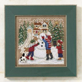 Mill Hill Buttons & Bead Kits MH149302 Winter Series 2009 ~ Snow Day ~ Christmas Village Series