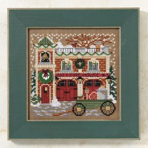 Mill Hill Buttons & Bead Kits MH149305 Winter Series 2009 ~ Firehouse ~ Christmas Village Series