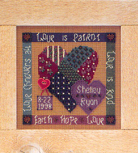 Mill Hill Buttons & Bead Kits MHCB119 Everyday Series 1998 ~ Celebration Of Love