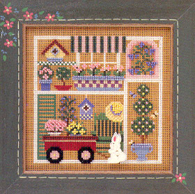 Mill Hill Buttons & Bead Kits MHCB139 Spring Series 2000 ~ Garden Party