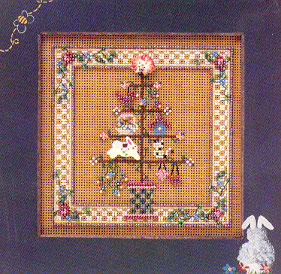 Mill Hill Buttons & Bead Kits MHCB143 Spring Series 2000 ~ Spring Feather Tree