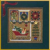 Mill Hill Buttons & Bead Kits MHCB149A Winter Series 2000 ~ Holiday Greetings