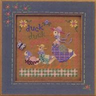 Mill Hill Buttons & Bead Kits MHCB160 Spring Series 2001 ~ Duck Duck Goose