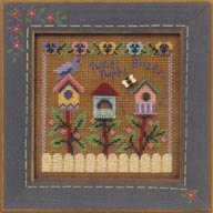 Mill Hill Buttons & Bead Kits MHCB161 Spring Series 2001 ~ Tweet Tweet Buzz