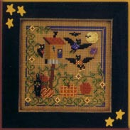 Mill Hill Buttons & Bead Kits MHCB164 Autumn Series 2001 ~ Bat House