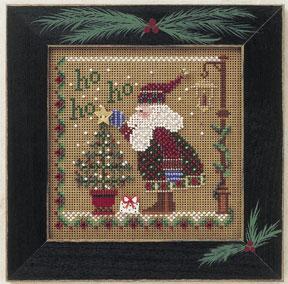 Mill Hill Buttons & Bead Kits MHCB170 Winter Series 2001 ~ Ho Ho Ho Santa