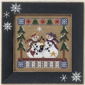 Mill Hill Buttons & Bead Kits MHCB171 Winter Series 2001 ~ Frosty Friends
