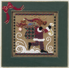Mill Hill Buttons & Bead Kits MHCB172 Winter Series 2001 ~ Dashing Reindeer