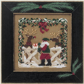 Mill Hill Buttons & Bead Kits MHCB174 Winter Series 2001 ~ Reindeer Ranch