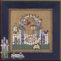 Mill Hill Buttons & Bead Kits MHCB175 Spring Series 2002 ~ Garden Trellis