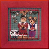 Mill Hill Buttons & Bead Kits MHCB210 Winter Series 2003 ~ Christmas Pageant