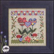 Mill Hill Buttons & Bead Kits MHCB215 Spring Series 2004 ~ Quilted Garden