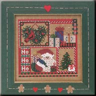 Mill Hill Buttons & Bead Kits MHCB226 Winter Series 2004 ~ Ho Ho Sampler