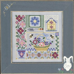 Mill Hill Buttons & Bead Kits MHCB229 Spring Series 2005 ~ Garden Sampler
