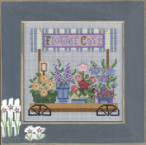 Mill Hill Buttons & Bead Kits MHCB234 Spring Series 2005 ~ Flower Cart
