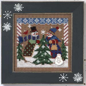 Mill Hill Buttons & Bead Kits MHCB241 Winter Series 2005 ~ Tree Shopping
