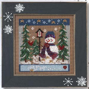 Mill Hill Buttons & Bead Kits MHCB245 Winter Series 2005 ~ Winter Chill