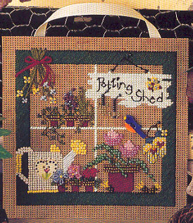 Mill Hill Buttons & Bead Kits MHCB64 Spring Series 1996 ~ Potting Shed