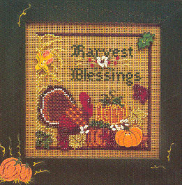 Mill Hill Buttons & Bead Kits MHCB69 Autumn Series 1996 ~ Harvest Blessing