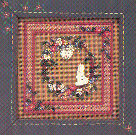 Mill Hill Buttons & Bead Kits MHCB80 Spring Series 1997 ~ Spring Wreath