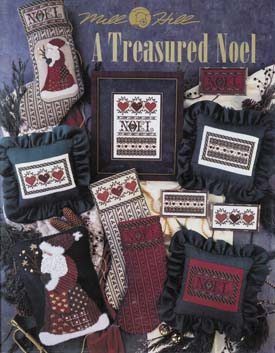 Mill Hill Charts MHP49 A Treasured Noel