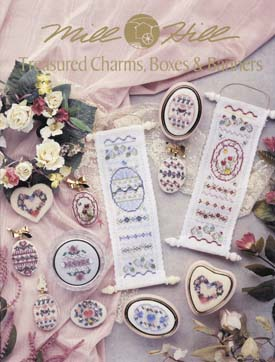 Mill Hill Charts MHP52 Treasured Charms Boxes & Banners