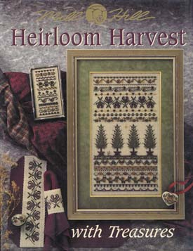 Mill Hill Charts MHP54 Heirloom Harvest With Treasures