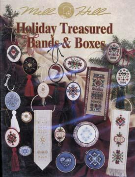 Mill Hill Charts MHP56 Holiday Treasured Bands & Boxes