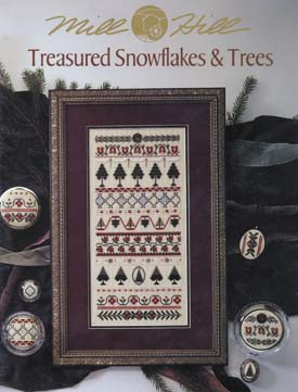 Mill Hill Charts MHP57 Treasured Snowflakes & Trees