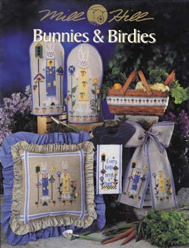 Mill Hill Charts MHP62 Bunnies & Birdies