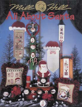 Mill Hill Charts MHP68 All About Santa