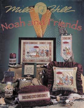 Mill Hill Charts MHP71 Noah & Friends