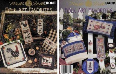 Mill Hill Charts MHP75 Folk Art Favorites