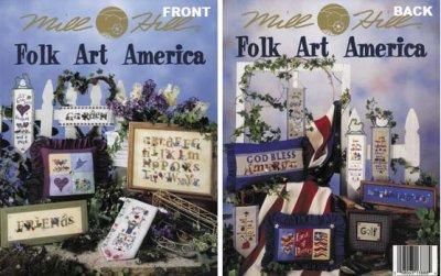 Mill Hill Charts MHP88 Folk Art America