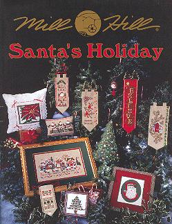 Mill Hill Charts MHP94 Santa's Holiday