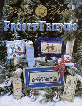 Mill Hill Charts MHP95 Frosty Friends