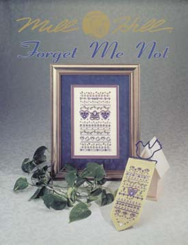 Mill Hill Charts MHP97 Forget Me Not Sampler