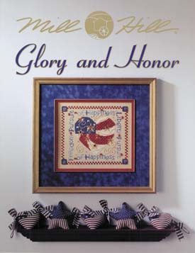 Mill Hill Charts MHP98 Glory & Honor