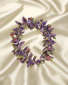 Mill Hill Jewelry Kits MH506201 Flower Garden Bracelets 2006 ~ Wisteria