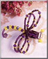 Mill Hill Jewelry Kits MHB1 Beaded Bug Pins 2003 ~ Dandy Dragonfly