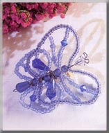 Mill Hill Jewelry Kits MHB2 Beaded Bug Pins 2003 ~ Betty Butterfly