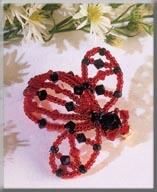 Mill Hill Jewelry Kits MHB3 Beaded Bug Pins 2003 ~ Lori Ladybug