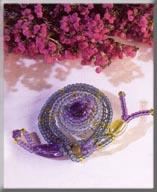 Mill Hill Jewelry Kits MHB4 Beaded Bug Pins 2003 ~ Suzy Snail