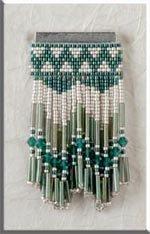 Mill Hill Jewelry Kits MHJBP3 Jeweled Bar Pins 1999 ~ Royal Willow Bar