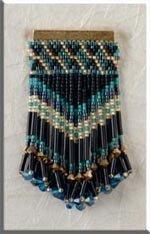 Mill Hill Jewelry Kits MHJBP4 Jeweled Bar Pins 1999 ~ Golden Capri